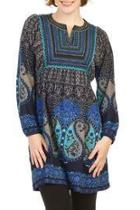 Blue Bohemian Dress