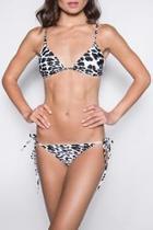 Leo Leopard Bikini Bottom