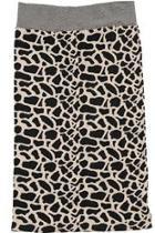 Cobblestone Pencil Skirt