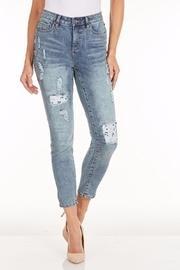 Lace Patchwork Jean