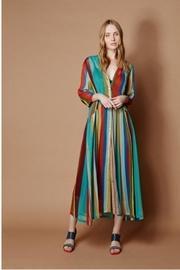 Turqouise Stripe Dress