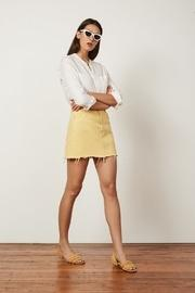 Corey High Rise Skirt Yellow