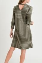 Linear Knit Dress