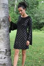 Bell-sleeve Holiday Dress