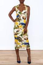 Sleeveless Bodycon Midi Dress