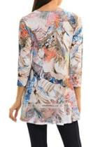 Abstract Flare Tunic