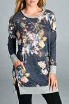 Tunic Knit Floral