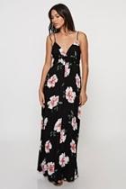 Floral Print Maxi-dress