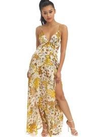 Water Florals Maxi-dress