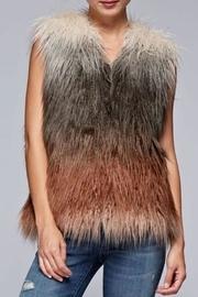 Faux Fur Ombre-vest