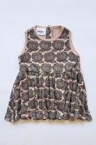 Peonies Cotton Dress