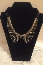 Black Silver Choker Necklace
