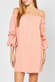 Tiered Sleeve Ots-dress