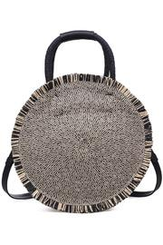 Riviera Straw Circle Crossbody