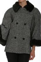 Tweed Bell-sleeve Jacket