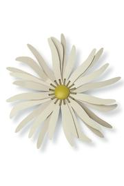 Cream Metal Flower