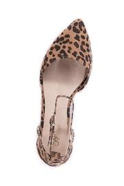 Plateau Leopard Suede Wedge