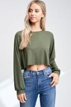 Cropped Thermal Top