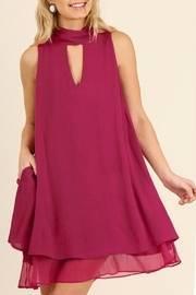 Berry Swing Dress