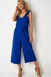 Blue Culotte Jumpsuit