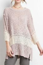 The Danielle Sweater-tunic
