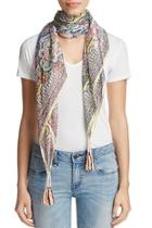 Silk Patterned Scarf