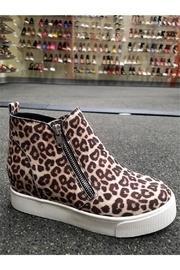 Cheetah Sneaker Wedge