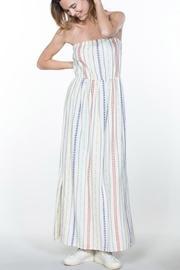 Cream Stripes Maxi