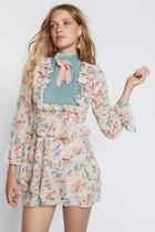 Blossom Sleeved Dress