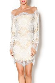 For Love And Lemons White Nude Dress