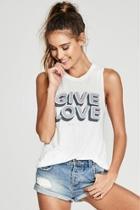 Give Love Tank