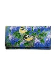 Hand-painted Goldfinch Wallet
