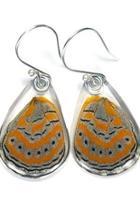 Shimmery Butterfly Earrings