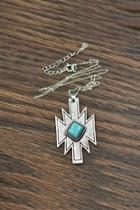 Natural-turquoise Sterling-silver Chain-necklace