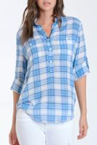 Emily Lt Weight Plaid Shirt