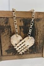 Forks Heart Necklace