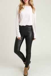 Skinny Faux-leather Leggings