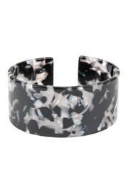 Oversize-acetate Cuff-bracelet