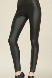 Faux Leather Stretch Legging