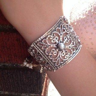 Baroque Cuff Bracelet