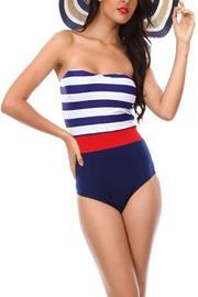 Nautical One-piece Swimsuit
