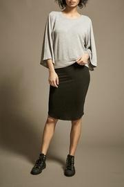 Fine Knit Pencil-skirt