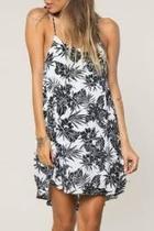 Floral Cross-back Dress