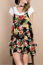 Printed Challie Dress