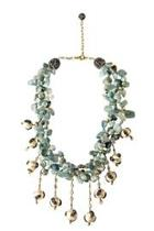 Blue Larimar Pearl Necklace