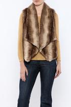 Julius Faux Fur Vest