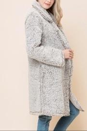 Fuzzy Long Coat