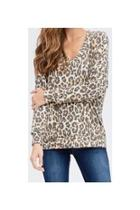 Cheetah Long-sleeved Top