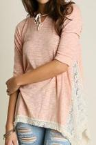 Hooded Lace Top