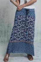 Graphic Long Skirt